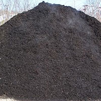 CMS, Inc. Landscape Construction Materials - Black Mulch