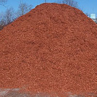 CMS, Inc. Landscape Construction Materials - Red Blend Mulch